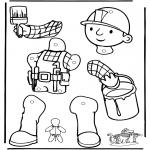 Maisterkowanie - Pajacyk Bob Budowniczy 1