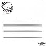 Maisterkowanie - Papeteria Hello Kitty