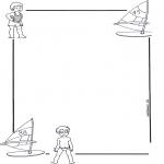 Maisterkowanie - Papier listowy dziecko