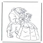 Bohaterowie Z Bajek - Piękna i Bestia 1