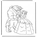 Bohaterowie Z Bajek - Piękna i Bestia 3