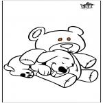 Zwierzęta - Pies i niedźwiedź