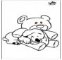Pies i niedźwiedź