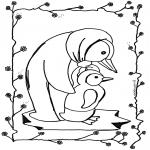 Zwierzęta - Pingwin 2