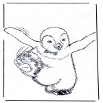 Zwierzęta - Pingwin 4