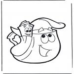 Przedszkolaki - Plecak i kartka