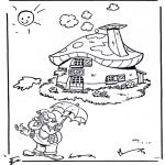 Przedszkolaki - Plop przed swoim domkiem