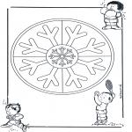 Mandala's - Podwójna Mandala 11