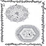 Mandala's - Podwójna Mandala 9