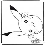 Kartki do Kłucia - Pokemon Maska