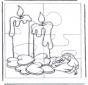 Puzle świeczki