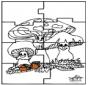Puzzle - Jesień