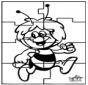 Puzzle Pszczółka Maja