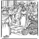 Kolorowanki Biblijne - Queen Sheba