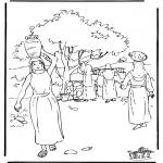 Kolorowanki Biblijne - Rebeka 2