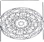 Reniferowa Mandala 2