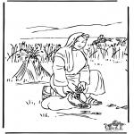 Kolorowanki Biblijne - Ruta 2