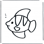 Zwierzęta - Ryba pod wodą