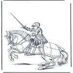 Różne - Rycerz na koniu