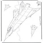 Różne - Saab J 35 F Draken