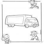 Różne - Samochód ciężarowy 1
