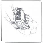 Różne - Samochód Terenowy