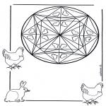 Mandala's - Sercowa Mandala 1