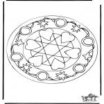 Mandala's - Sercowa Mandala 5