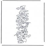 Bohaterowie z Bajek - Siedem krasnoludków