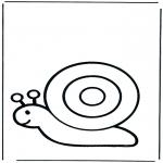 Zwierzęta - Ślimak 1