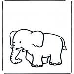 Zwierzęta - Słoń 3