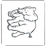 Zwierzęta - Słoń 4