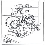 Przedszkolaki - śniadanie