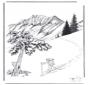 Śnieg w Yellowstone 1