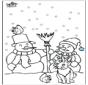 Śniegowy Bałwan 3
