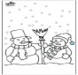 Śniegowy Bałwan 4