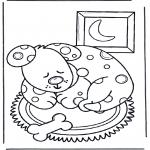 Zwierzęta - Śpiący  pies