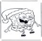 SpongeBob i czapka gwiazdora