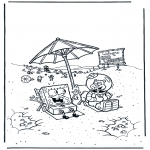 Przedszkolaki - SpongeBob i Sandy