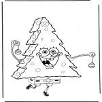 Przedszkolaki - SpongeBob jako choinka