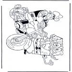 Przedszkolaki - SpongeBob na motorze