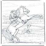 Zwierzęta - Stający Dęba Koń
