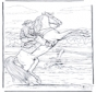 Stający Dęba Koń