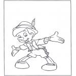 Bohaterowie Z Bajek - Stojący Pinokio