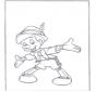 Stojący Pinokio
