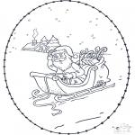 Boze Narodzenie - Święta Wyszywanka 3