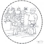 Boze Narodzenie - Święta Wyszywanka 8