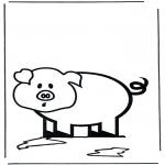 Zwierzęta - świnka 2