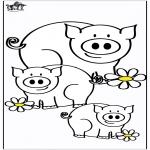 Zwierzęta - Świnki 4