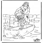 Kolorowanki Biblijne - Syn Marnotrawny 3